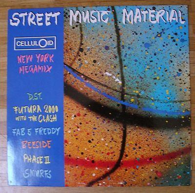 VARIOUS ARTISTS Street Music Material LP/GER