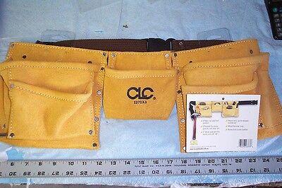 Clc 1370x3 - 8 Pocket Heavy Duty Work Apron/belt -