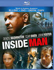 Inside Man (Blu-ray/DVD, 2011, 2-Disc Set, With Tech Support for Dummies Trial)