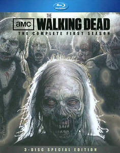 Walking Dead The Complete First Season Blu-ray Disc, 2011, 3-Disc Set, Specia  - $10.00