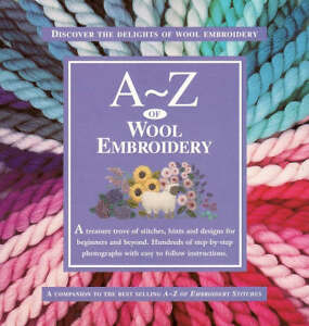 A-Z-of-Wool-Embroidery-by-Country-Bumpkin-Paperback-2002