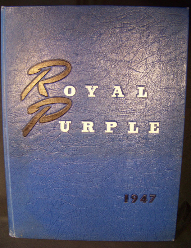 Royal Purple 1947 Kansas State College Yearbook