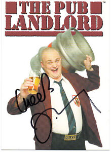 AL-MURRAY-Signed-6x4-Postcard-THE-PUB-LANDLORD-COA
