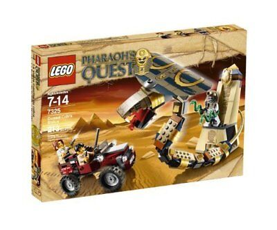 7325 Cursed Cobra Statue Pharaohs Quest Lego New Legos Set Retired Sealed