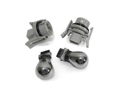 Depo Bmw E39 Angel Headlight Corner Socket +chrome Bulb