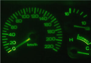 Ford-Falcon-EF-EL-Fairlane-NL-Green-LED-Dash-Light-Kit