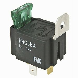 HIGH QUALITY - FUSED RELAY 12VOLT W/ 30 AMP FUSE & S/STEEL MOUNTING BRACKET