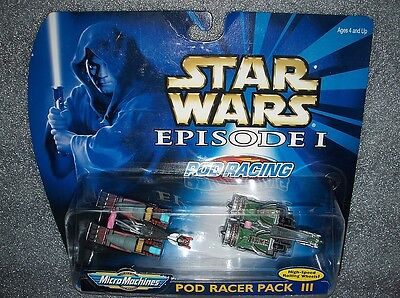 Micro Machines Star Wars Set - Pod Racer Set 3