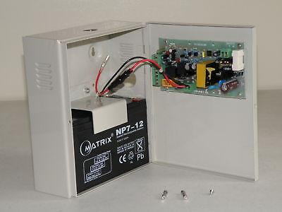 12VDC UPS power supply for keyless electronic door lock