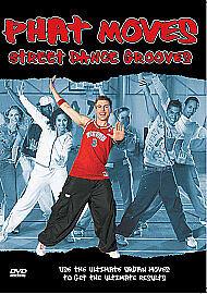 PHAT MOVES - STREET DANCE GROOVES - BRAND NEW & SEALED - REGION 2 - DVD