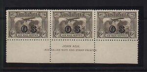Australia-CO1-Mint-John-Ash-Strip-Of-Three