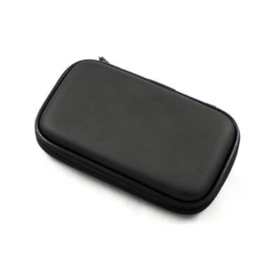 Black Hard Pouch Case For 4.3-inch Digital Camera, Gps, External Slim Hard Drive