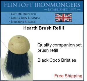 Replacement Round Companion Hearth Brush Head Refill