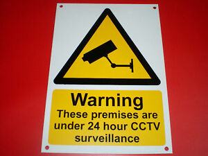 Warning-These-Premises-Are-Under-24-Hour-CCTV-Surveillance-A4-Pre-Drilled-Sign