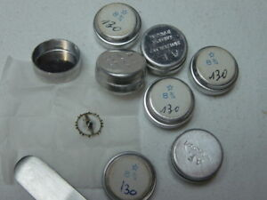 Venus Cal 130 Balance Complete Watch Part NOS