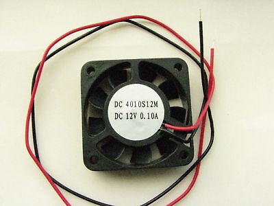 Fan 12v Dc 40mm 40 10mm 0.16a 3800 Rpm 5.60 Cfm, 10 Fans