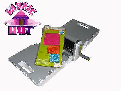 55100S- New Accuquilt GO! Fabric Cutter Machine Starter Set Quilt Block Die Mat
