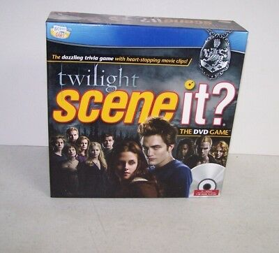 Scene It? Twilight Edition Dvd Trivia Game Sealed
