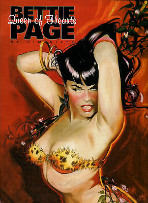 Bettie Page: Queen Of Hearts By Jim Silke (1995, Pap...
