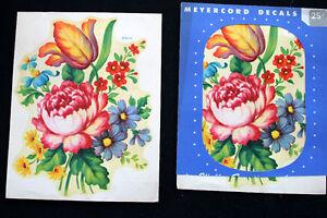 2-VINTAGE-DEADSTOCK-1930S-40S-MEYERCORD-DECALS