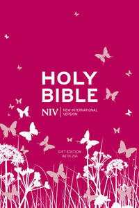 NIV Tiny Bible (Pink Soft-tone with Zip), International Version, New - Hardcover
