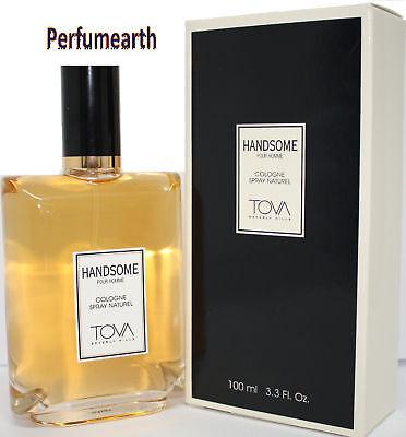 Tova Handsome For Men 3.3 Oz Cologne Natural Spray