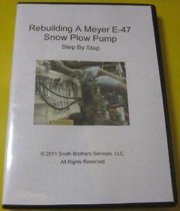 Rebuilding-A-Meyer-E-47-Snow-Plow-Pump-DVD