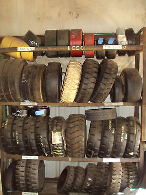 16x5x10-1/2 Forklift Rubber Press on Tire on Rummage