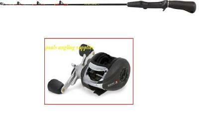 Trigger Cup Fishing Rod Kayak Canoe 75cm & Black Reel