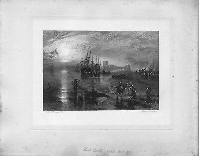 j.m.w. turner .r.a. print 1878 . exhibited !