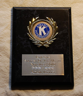 Kiwanis, or SPORT, Award Plaque 6x8 Trophy FREE custom engraving