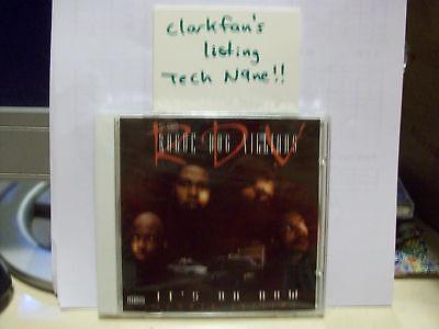 57th St Rogue Dog Villians CD It's On Now w/ Tech N9ne NEW/SEALED G-FUNK KC RAP