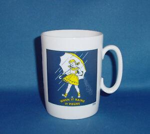 Morton Salt Advertising Coffee Mug Cup Mugs Cups Nice Ebay