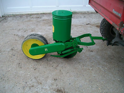 1 John Deere 71 one row Corn Planter, Deer food  Plots atv utv