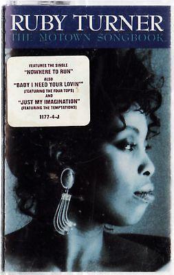 Ruby Turner / Motown Songbook Sealed Cassette (1989)