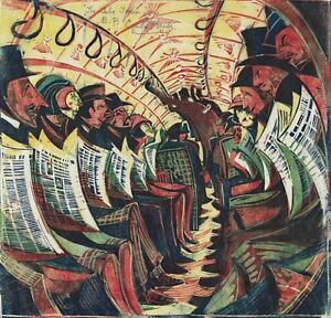 the tube train by cyril e powers Cyril power of the grosvenor school fine art greeting cards and limited edition  prints from  cyril e power (1872 - 1951)  'tube train' by cyril power (print.