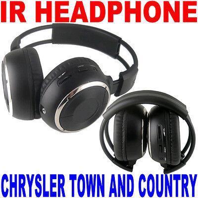 2 Wireless Folding Headphones Chrysler Town & Country