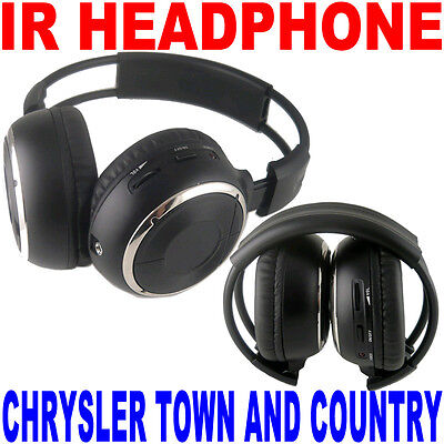 2 Wireless Folding Headphones Chrysler Town & Country