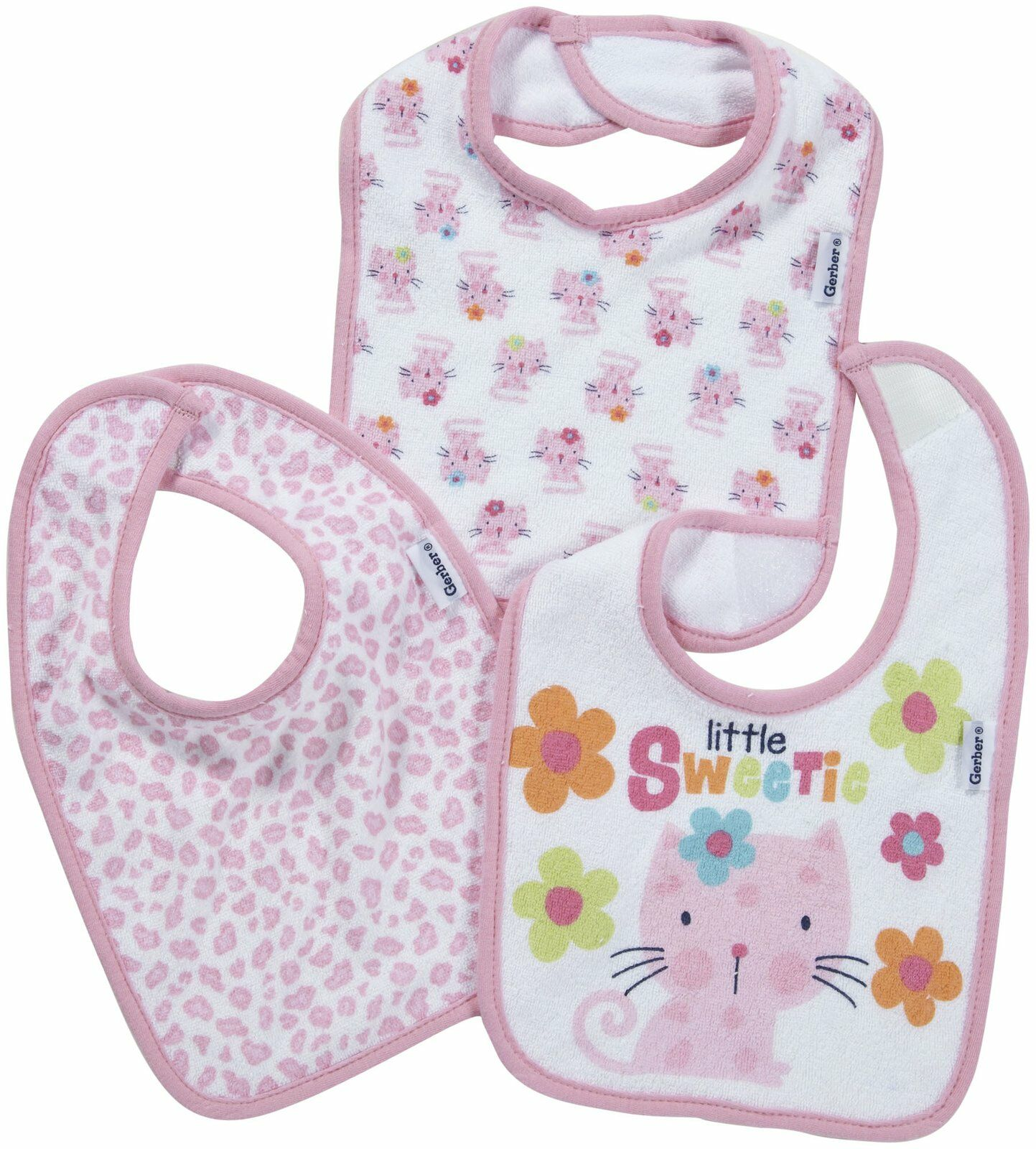 Baby Bibs - Girl's Colors (Baby Pink, Raspberry, & Lime Green) $ $ Compare.