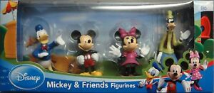 DISNEY MICKEY MOUSE AND FRIENDS MINNIE DONALD DUCK GOOFY FIGURINES CAKE TOPPER