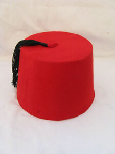 Egyptian-Red-Fez-Tarboush-Black-Tassel-22-5