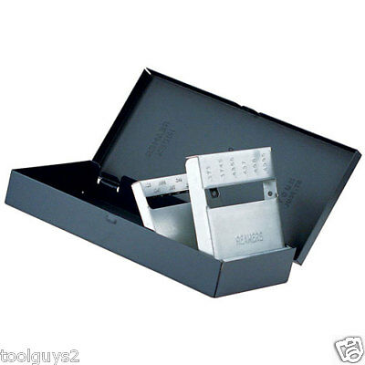 Huot 1/16x1/2x64 Reamer Dispenser Index Organizer 12050 new