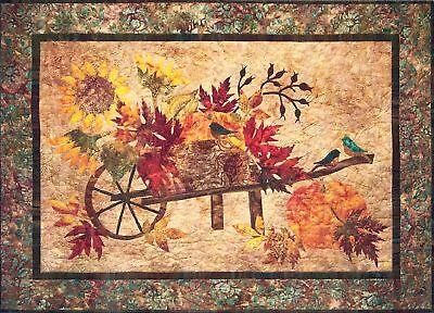 Harvest Pumpkin Applique Pattern Laundry Basket Quilts