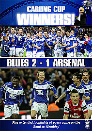 Birmingham City  Carling Cup Final 2011  Birmingham City 2 Arsenal 1  DVD VG - <span itemprop='availableAtOrFrom'>halesowen, United Kingdom</span> - Birmingham City  Carling Cup Final 2011  Birmingham City 2 Arsenal 1  DVD VG - halesowen, United Kingdom