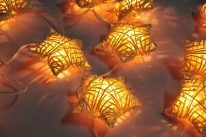 20-WHITE-STAR-RATTAN-STRING-PARTY-PATIO-FAIRY-DECOR-CHRISTMAS-WEDDING-LIGHTS
