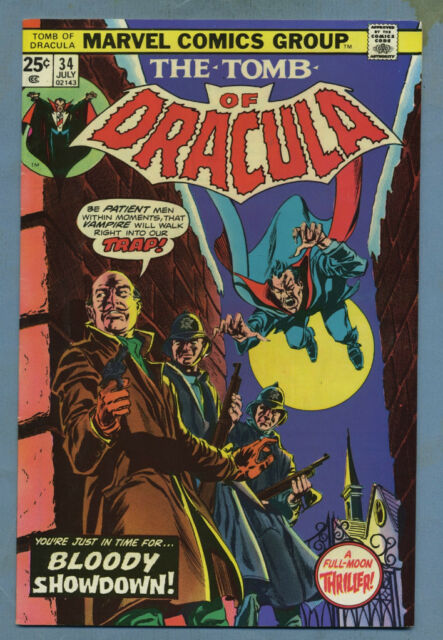 Tomb of Dracula #34 1975 Brother Voodoo Marvel Comics m