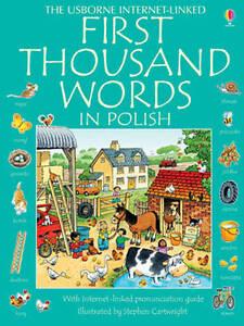Usborne First Thousand Words in Polish by Usborne Publishing Ltd (Paperback, 20…