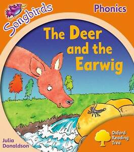NEW -  the DEER and the EARWING Songbirds Phonics LEVEL 6 (OXFORD READING TREE