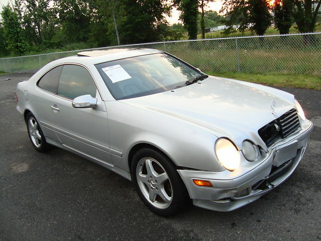 Mercedes Clk320 Salvage Rebuildable Repairable Wrecked