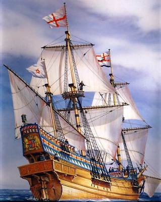 Heller - Golden Hind - Francis Drake Segelschiff Modell-Bausatz - 1:200 NEU Tipp